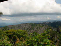 Limestone mountains in Khammouan province Laos