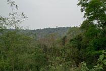 View of Phu Pan mountain, Sakon Nakhon province, Thailand