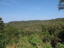 Mountain view in Phu Pan, Sakon Nakhon province