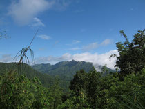Mountain view in Thong Pha Phum, Kanchanaburi province