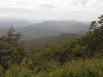 Mountain view near Khun Yuam, Mae Hong Son province