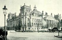 Reichstagsgebäude 1895