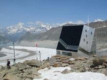neue Monte Rosa Hütte