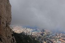 Kletterfelsen direkt über der Sta(ad)t Monaco