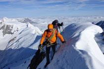Gipfelwächte auf dem Finsteraarhorn