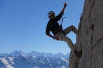 Abseilen vor «Eiger, Mönch und Jungfrau»