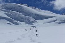 Auf dem Gipfel des Mont Blanc 4808m