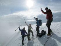 Auf dem Gipfel des «höchsten Schweizers»