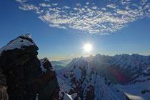 Sonnenaufgang bei Eiger, Mönch & Jungfrau