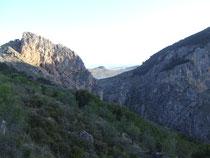 Zwischen Los Olivares und Moclin.