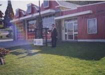 クィーンズ・タウンの消防署