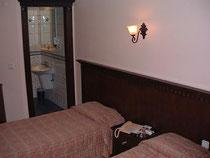 ホテルアクロポール初日の部屋