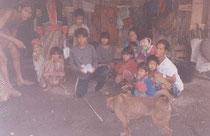 ラフー族の村人たち