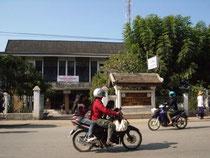 ルアンパバーンの郵便局前