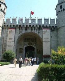 トプカプ宮殿入口