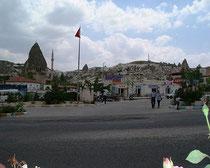 ギョレメのレストラン、スルタン前の眺め