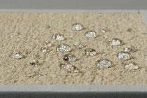 モルタル・コンクリート・コンクリート製品・ALC板・ケイカル板・土壁・レンガ他へ高い撥水性を示します。