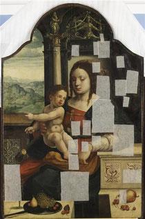Joos Van Cleve, La Vierge à l'Enfant,  © Bréjat-RMN