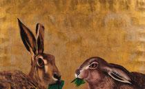 Lièvres, par M. Ostier