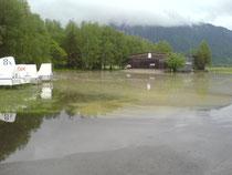 Hochwasser in Eschenlohe