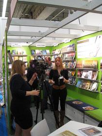 WDR Fernsehn- Team machte einen Bericht vor Ort über mich