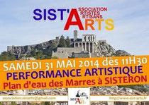 Sist'Arts performance 31 mai 2014