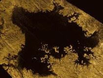 False colour, real smoothness (Credit: NASA/JPL-Caltech/ASI/Cornell)
