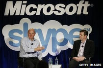 Microsoft bought Skype in 2011 and has added the tech to its Outlook email service (Credit: Getty Images)