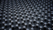 Graphene's hexagonal lattice of carbon atoms can absorb laser light like a sponge and then release it in bursts lasting just a fraction of a nanosecond.