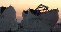 Scanning the sky at Paranal (Credit: BBC)