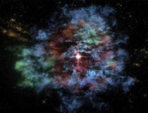 Heavy metal star (Credit: NASA/CXC/JPL-Cal Tech/MIT)