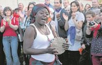Lebensfreude fern der alten Heimat – Najongo aus Kamerun scheint angekommen in Horb.