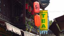 In der Altstadt von Shanghai