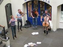 Abgehobene Musiker, London