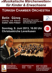 Konzertplakat 09.06.2013