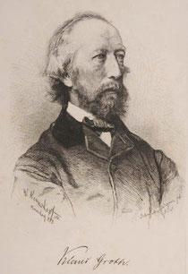 Klaus Groth, c 1884. (+)