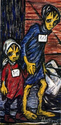 ヘルガさんが大人になってから描いた絵(1963年)