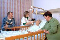Der Sterbeprozess verläuft laut Elisabeth Kübler-Ross nicht linear, sondern in mehreren Schritten. Jeden diesen Schritt gilt es professionell zu begleiten.  Foto: Krankenhaus Göttlicher Heiland