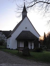 Die Kapelle im Jahr 2009