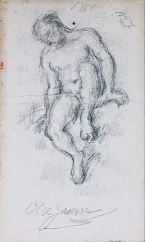 Phác thảo chì của Paul Cézanne