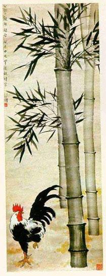 Tranh gà của Từ Bi Hồng (1895-1953)