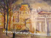 Bad Ischl Aquarell