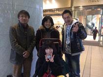 ヤンちゃ本舗さん、アトリエパンダさんと記念写真