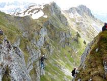 Klettersteig Fruttstägä IB Biel bewegt