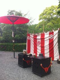 お茶会(岡崎公園)