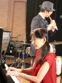 今回もミュージックノーツの塚原さんに撮影していただきました。