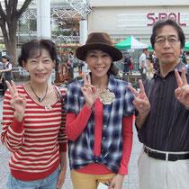 アナウンサーの高田優美さんと