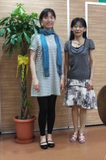 浅野希梨さんとMiyuki