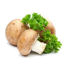 Die Champignons sorgen zusammen mit den Kartoffeln für Abwechslung
