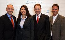 Prof. Dr. med. Maier, Prof Dr. Med Kiechle, Prof. Dr. med. Anthuber, Hans Zellner